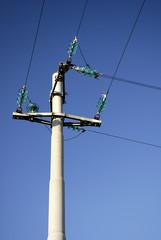 High voltage, power line