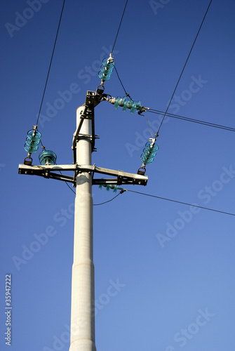 High voltage, power line