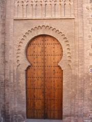 Puerta árabe en Toledo