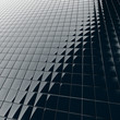 Abstract background from modern construction material