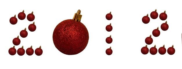 2012 Christmas balls