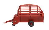 nostalgic hay wagon toy poster