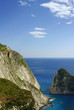 skała przy klifie, grecka wyspa Zakynthos