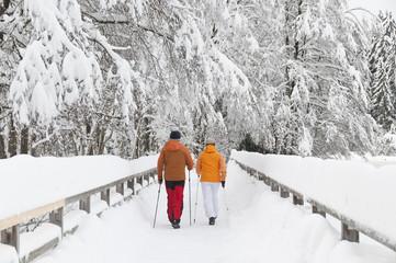 Walking im Winter