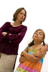 conflits mère fille