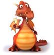 Dragon et champagne