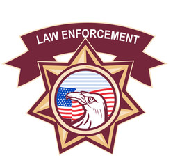 American Bald Eagle  law enforcement