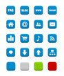 set of website icons