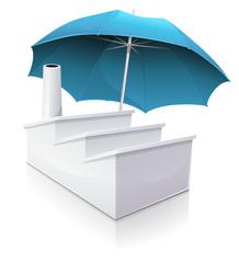 Usine et assurance professionnelle (reflet)