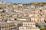 OVERVIEW OF MODICA WITH CATHEDRAL SAN GORGIO, SICILY