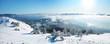 Beautiful winter panorama.