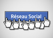 Réseau social bouton 2