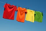 Fototapety Joyful summer laundry