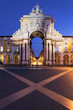 Stone arch at commerce square, Lisbon