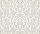 Vector seamless floral damask pattern - 35975692