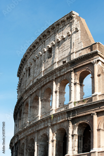 the Colosseum Rome , Italy