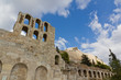 Odeon of Herodes Atticus and Acroplois, Athens, Greece