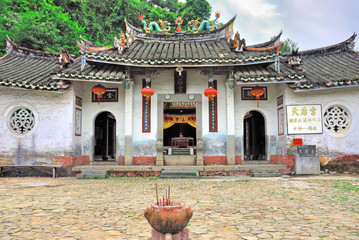 China, Yongding, temple of the Queen of Heaven