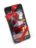 vánoční smartphone