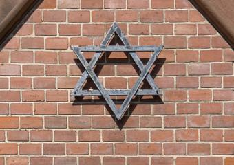 symbolic detail of a jewish graveyard