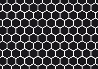 Nid d'abeille noir