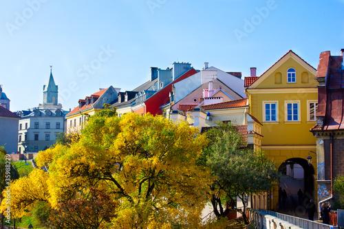 Zdjęcia na płótnie, fototapety na wymiar, obrazy na ścianę : old town of Lublin, Poland