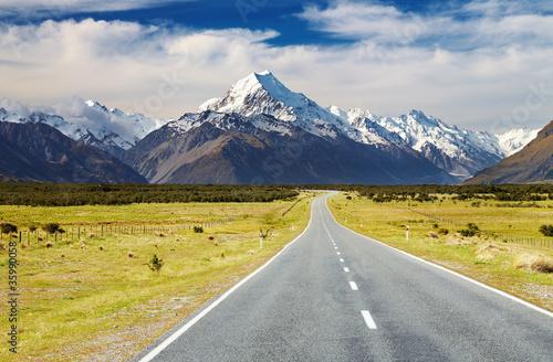 Keuken foto achterwand Nieuw Zeeland Mount Cook, New Zealand