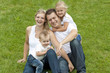 unbeschwerte Familie