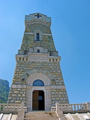 Ossuary of the first world war in Monte Pasubio