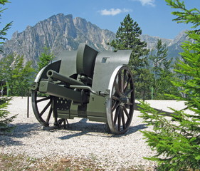 italian cannon of the first world war