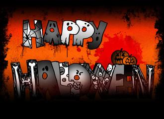 sfondo happy halloween