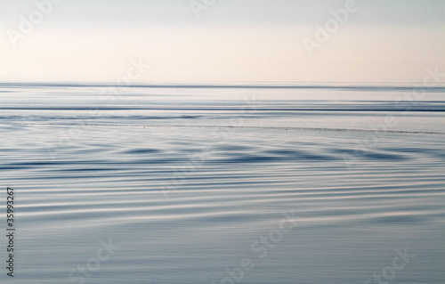 canvas print picture stilles Meer