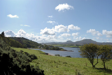Mcleods Tables and Dunvegan loch