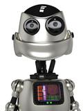 funny robot portrait
