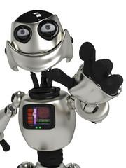 funny robot in I got you