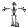 funny robot in give me a hug