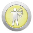 """Light Colored Icon (Yellow) """"Archery"""""""
