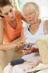 Aide à domicile - Test diabète