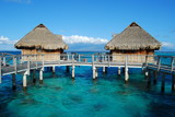 water bungalow -french polynesia