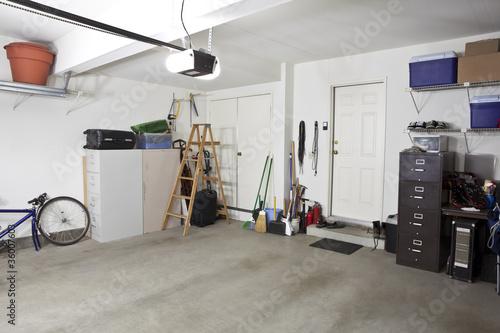 Leinwanddruck Bild Clean Garage