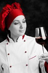 Chef - Degustazione Vino Rosso