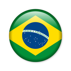 Brasilien - Button