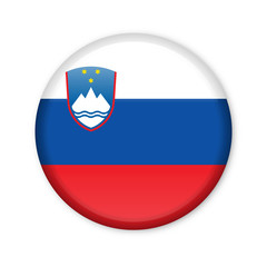Slowenien - Button