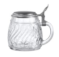 beer mug made of glass