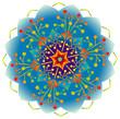 Mandala Energie Couleurs Arc en Ciel