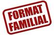 Stempel rot rel FORMAT FAMILIAL