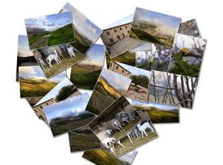 Vita di campagna, collage