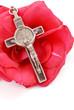Cross on Red Rose
