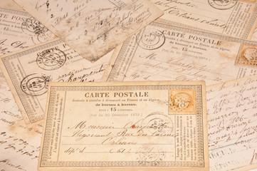 Alte Postkarten um 18-hudert