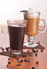 Dwa rodzaje kawy